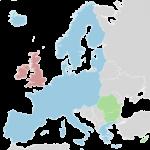 mapa acuerdo Schengen