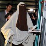 El uso del velo islámico por testigos en juicios