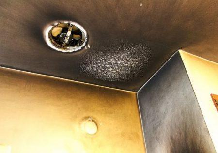 Daños por incendio en una vivienda de alquiler