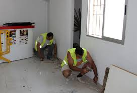 Obras de conservación en el local arrendado