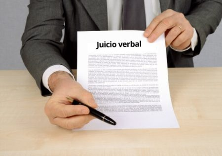 Modelo de demanda de juicio verbal