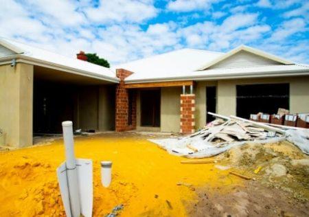 Terreno privativo sobre el que se construyó la vivienda familiar