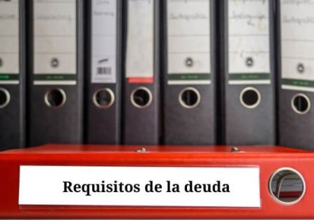Requisitos de la deuda para acudir al proceso monitorio