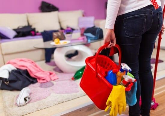 El trabajo para la casa a la extinción del régimen de separación